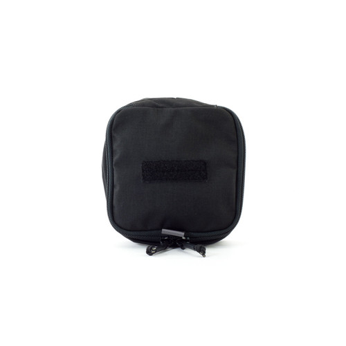 6x6 Zippered Med Pouch - Black