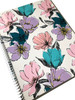 Daphne Spiral Notebook,  grey/pink