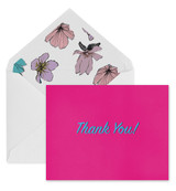 Thank You Card, Daphne A2 Envelope