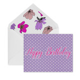 Happy Birthday Hearts, Daphne A2 Envelope
