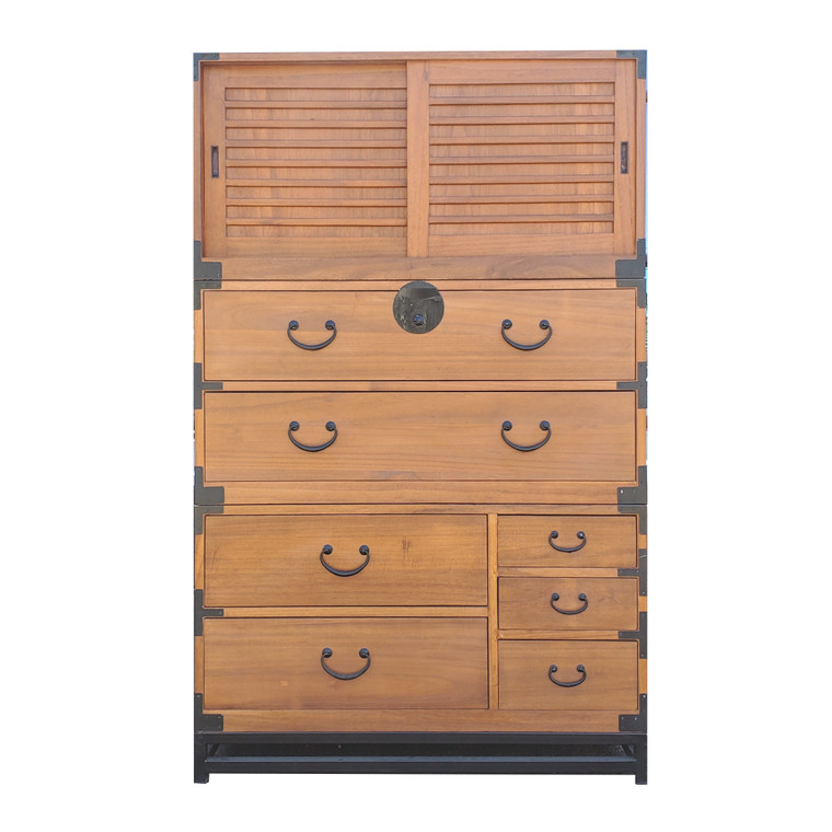 Japanese style 3 sections clothing chest (KB14)