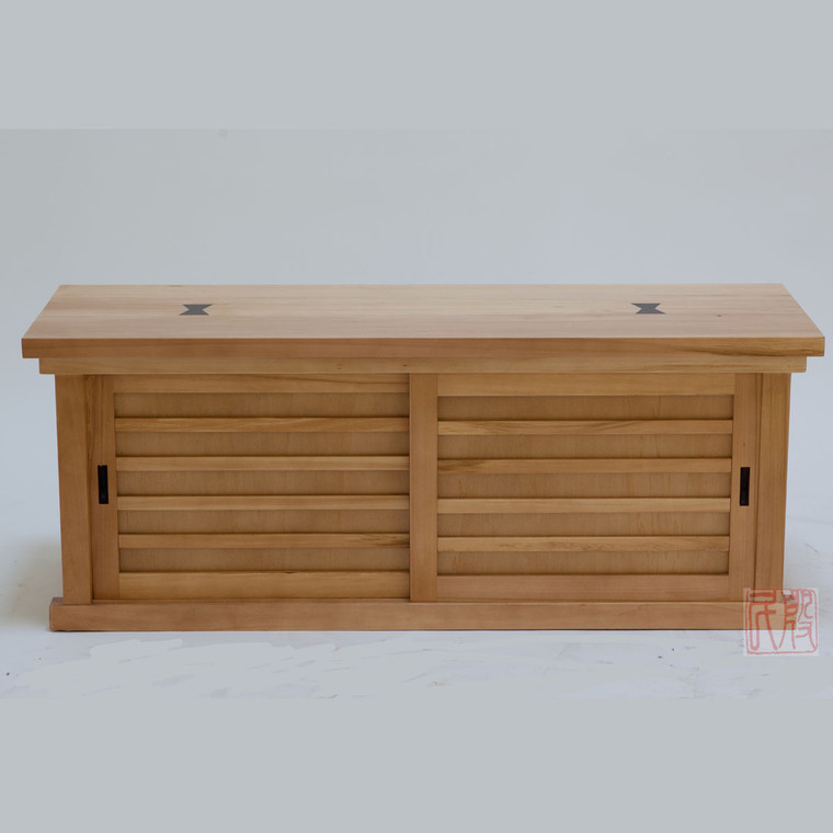 Tansu style bench