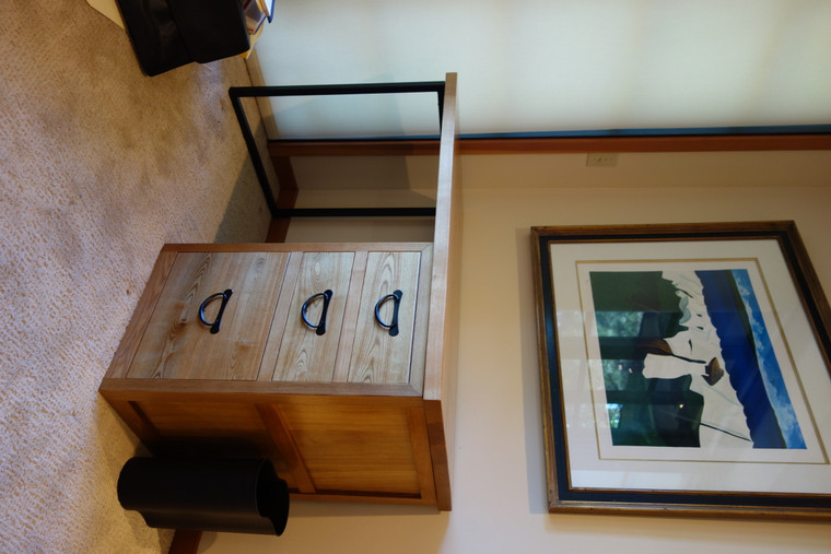Japanese tansu style desk 160410
