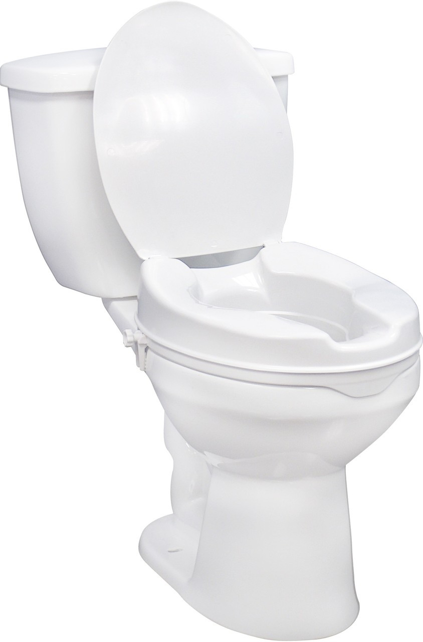 Phenomenal Drive Medical 12066 Raised Toilet Seat 6 With Side Clam Uwap Interior Chair Design Uwaporg