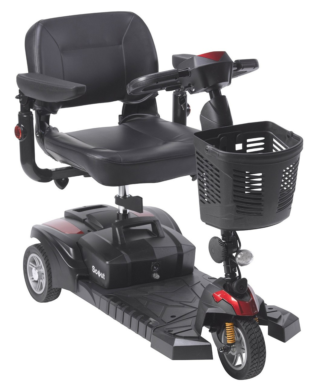Buy Online Drive Medical SFDST3 Spitfire DST 3-Wheel Scooter Canada