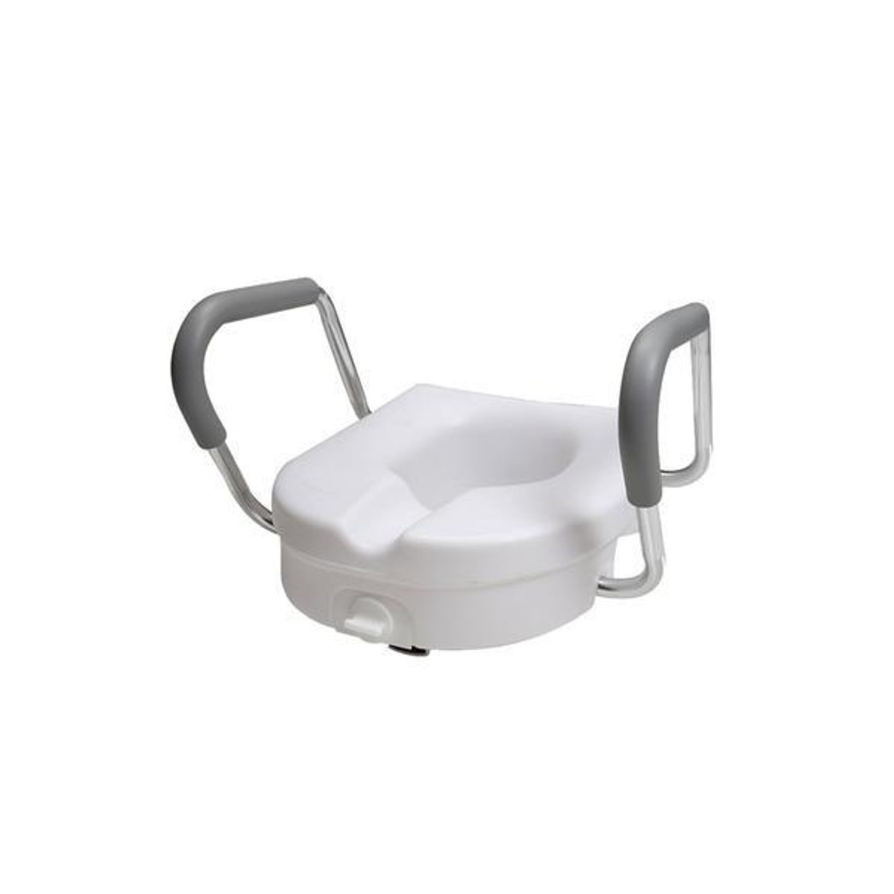 Groovy Pcp 7017 Raised Toilet Seat W Armrest Lock 7017 Pdpeps Interior Chair Design Pdpepsorg