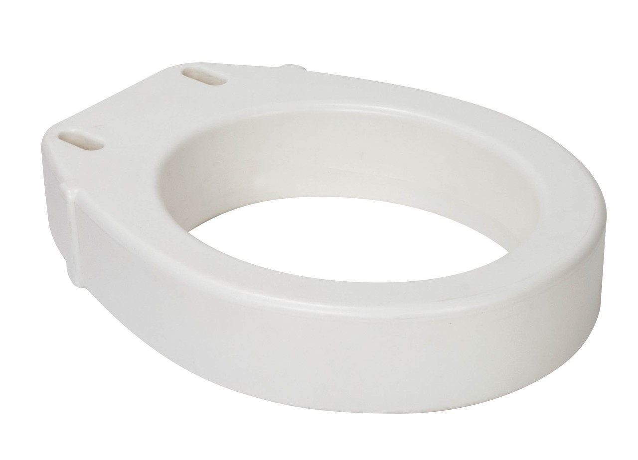 Magnificent Drive Rtl12607 Hinged Toilet Seat Riser Standard Seat Rtl12607 Cjindustries Chair Design For Home Cjindustriesco
