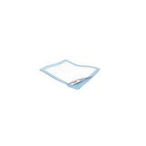 """SIMPLICITY FLUFF UNDERPAD MODERATE ABSORBENCY 23"""" X 36"""" LT. Blue (10/BAG) CS/15 BAG (MDT-7176)"""