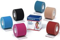 BSN 7297811 Leukotape K Elastic Adhesive Tape for Pain Relief, Beige, 5 cm x 5 m Box/1 - Case of 5