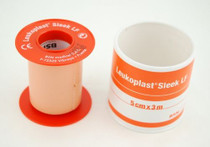 "BSN 7235909 Waterproof Plastic Tape 2"" x 3m w/spool Elastoplast, Latex Free, 1 Roll"