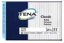 """SCA 67720 TENA CLASSIC Brief, MEDIUM SIZE 34""""-47"""" (Case of 100)"""