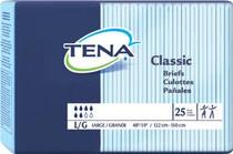 """SCA 67740 TENA CLASSIC Brief, Large SIZE, 48""""-59"""" (25/PKG) CS/4PKG (SCA-67740)"""