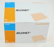 Smith & Nephew 7409 JELONET PARAFFIN Gauze Dressing, 10cm X 10cm, BX/100