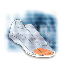 Comforsil Forefoot Insoles Sport One Size (CC243) (OA-CC243)