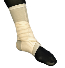 Elastic Double Strap Ankle Support Beige XS-XXL (325)