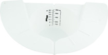 Urine Meter (Hat) White Plastic 193-02072-X