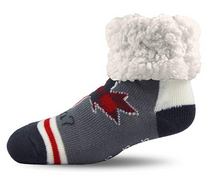 CANADA RETRO - PUDUS BRAND SLIPPER SOCKS PK/3 Pairs (CAN-3) (CAN-3)