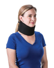 "Core Products CLR-6260 2.5"" Foam Cervical Collar Universal Black (CLR-6260)"