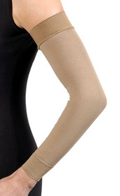 JOBST BELLA STRONG READY-TO-WEAR ARMSLEEVE W/SIL BAND, 20-30MMHG, 6 REGULAR, NATURAL