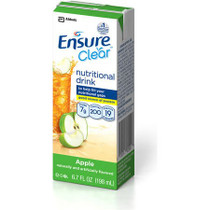 ABBOTT 54775 ENSURE ENLIVE CLEAR LIQUID NUTRITION, Apple Flavor, Calories 300/8.1 fl oz, CASE OF 27 ONLY