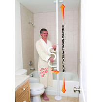Stander 1100-W Security Curve & Grab Bar (STD1100-W)