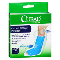 Medline CUR200ALL CURAD PROTECTOR CAST,ADULT LEG,2/BX CS 6/CS
