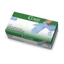 Medline CUR9314 Examination Glove,NITRILE,TXT,Powder-Free,LF,SM CS 1500/CS