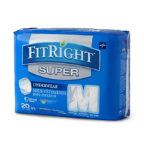 Medline FIT33005A UNDERWEAR,PROTECTIVE,SUPER,MEDIUM,28-40 CS 80/CS