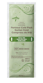 "Medline MDS138055 Standard Perineal Cold Packs, 4.5"" x 14.25"", 24 Count"