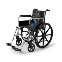 Medline MDS806300DFLA WHEELCHAIR,EXCEL,18 ,FLA,ELR EA