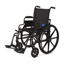 Medline MDS806500 WHEELCHAIR,EXCEL,K4,18,S/B DLA,S/A FT EA (Medline MDS806500)