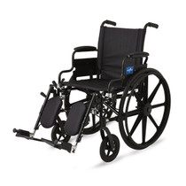 Medline MDS806550 WHEELCHAIR,EXCEL,K4,S/B DLA,S/A ELR EA (Medline MDS806550)