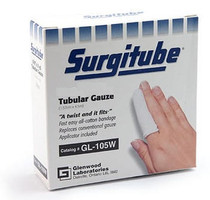 Surgitube Tubular Gauze Roll - White (GL105W)