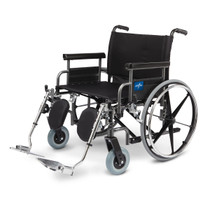 Medline MDS809850 Excel Shuttle Extra-Wide Wheelchair