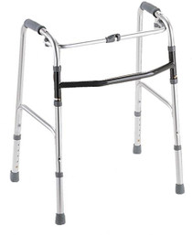 Medline MDS86617 Youth 1-Button Folding Walkers (Pack of 2)