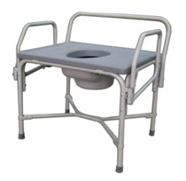 Medline MDS89668XW COMMODE,DROP ARM,850 LBS CAPACITY CS 1/CS