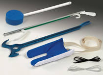 Medline MDSD1411 Hip Kit with Metal Reacher, Assorted/Multicolor, ADL, EA (Medline MDSD1411)