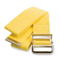 """Medline MDT821203YL Washable Cotton Gait Belts, Yellow 72"""""""