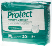 Medline MSC13005A PROTECTIVE UNDERWEAR,Medium,28-40 CS 80/CS (Medline MSC13005A)