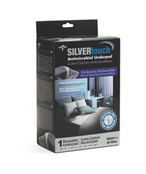 "Medline MSC217044R Silvertouch Odor Control Antimicrobial UNDERPAD,32""X36"",TWILL FACE CS 6/CS"