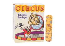 "Dukal 15600 3/4"" x 3"" Plastic Circus bandages 100/bx"