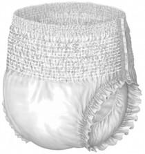Medline MSC33700 Protection Plus Super Protective Adult Underwear - 2X-Large,68-80 CS 48/CS