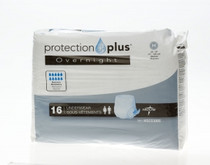 Medline MSC53005 Protection Plus Overnight Protective Underwear,Medium,Heavy,28-40 CS 64/CS