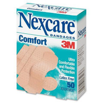 "3M CS102 Nexcare Dressing ADHESIVE STRIP COMFORT 0.75"" x 3"" BX/80"