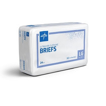 Medline ULTRACARELG BRIEF,CLOTHLIKE,CARE,LARGE,48-58 CS 72/CS