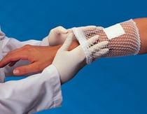 """Derma Sciences GL703 Surgilast Tubular Elastic Dressing Retainer, Medium Hand, Arm, Leg, Foot, 25 yd Roll, 10.125"""" Width, Working Stretch, Size 3 (Derma Sciences GL703)"""