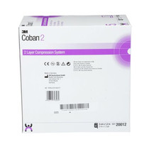 3M-20012 COBAN 2 COMPRESSION SYSTEM (LAYER 1 ONLY) 5CM X 1.2M (BX/32) 1/RL