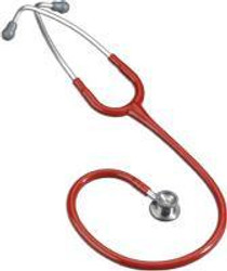 """3M-2114R Littmann CLASSIC II INFANT STETHOSCOPE, DOUBLE SIDED CHESTPIECE TECHNOLOGY, 28"""" RED TUBE (3M-2114R)"""