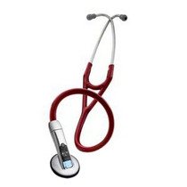 "Littmann 3200 ELECTRONIC STETHOSCOPE, BURGUNDY, 27"" TUBE, RECORDING AND BLUETOOTH TECHNOLOGY"