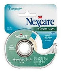 """3M-799CA Nexcare Cloth Tape with DISPENSER 3/4"""" X 6YDS BX/6"""